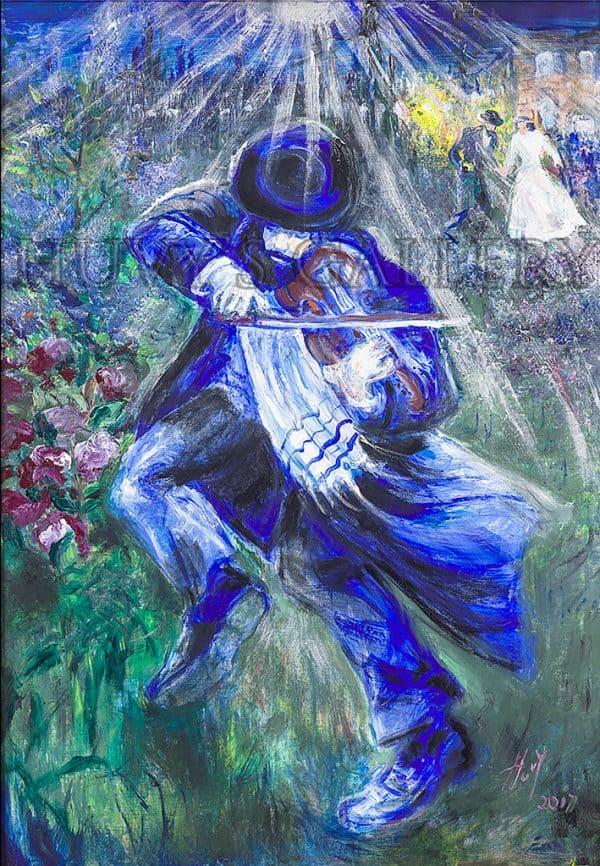 Violinist 8 Ra ew L